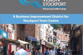 Stockport BID leaflet
