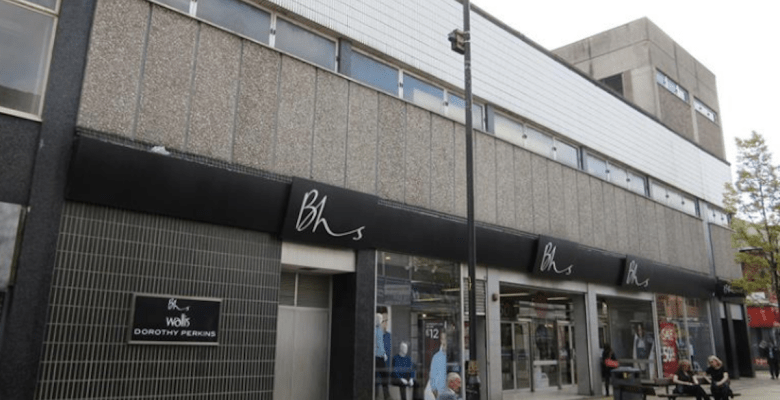 BHS was one of a number of stores that was a victim of the demise of the traditional High Street