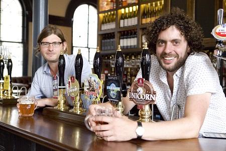 Baker's Vaults licensees Jamie Langrish & Jonny Booth