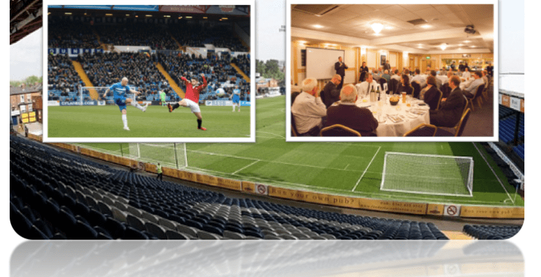 Stockport County Corporate hospitality - a great day out