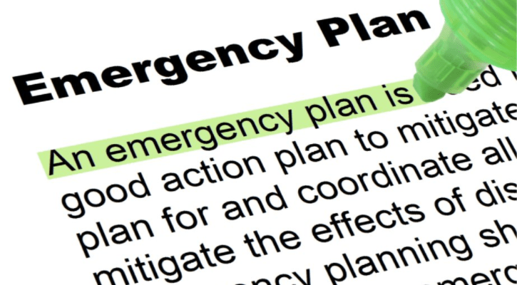 Emergency planning - in case of What If