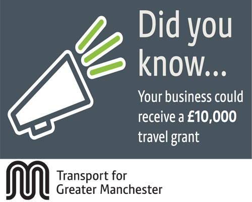 Tfgm £10,000 grant