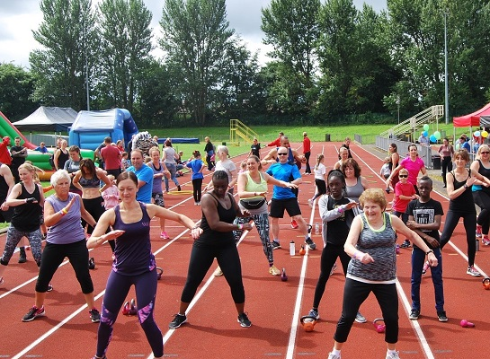 Life Leisure team raise money with a fitness festival