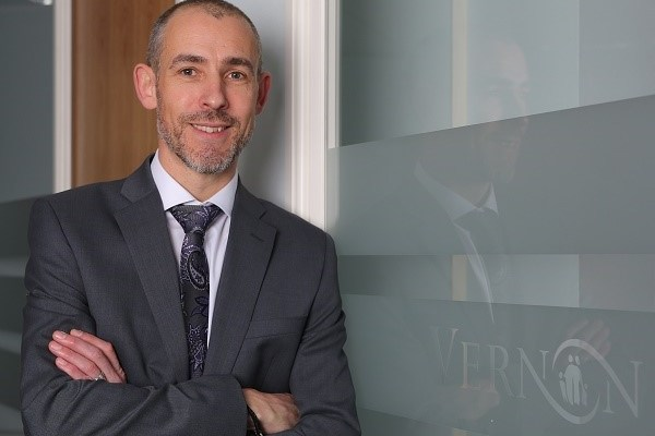 Ian Keeling of Vernon Building Society who has been shortllsted in Moneyfacts awards 2018