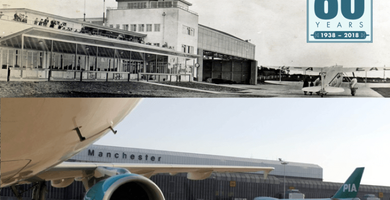 Manchester Airport 80th birthday celebrations