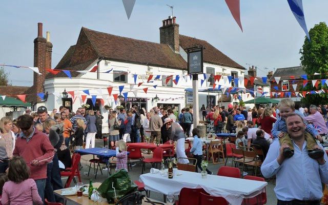 How are you celebrating this Saturday? Having a Royal Street Party?