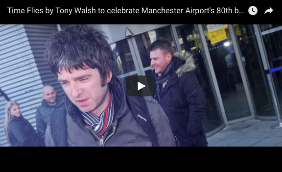 Time Flies Buy as Tony Walsh celebrates Manchester Airport 80th anniversary