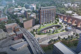 Transport for Greater Manchester (TfGM) have submitted plans to develop Stockport Interchange with rooftop Podium Park