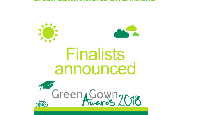 Stockport Council finalists in the Green Gown Awards
