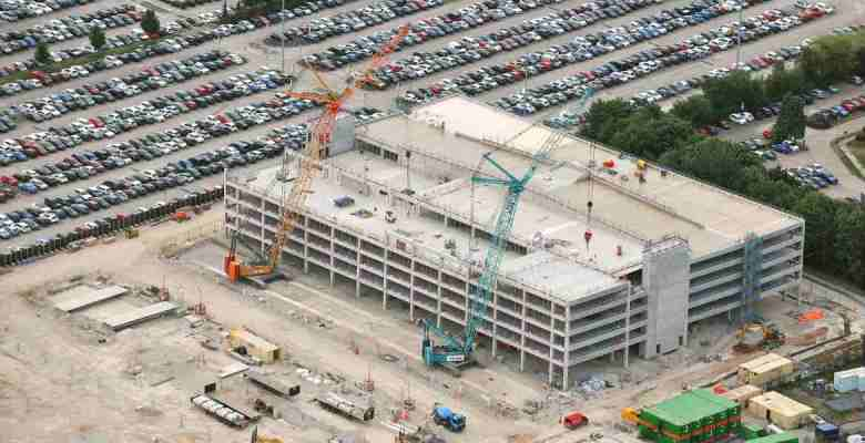 new meet and greet multi-storey car park at Manchester Airport