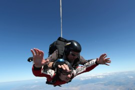 Platform81 complete a 15,000ft free-fall for Kidscan