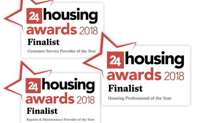 24 housing awards 2018 Finalists
