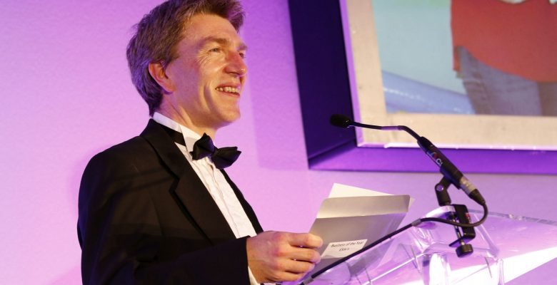 Andrew Baggott of Clarke Nicklin, founders of the Stockport Business Awards