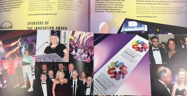 Ashcroft creative sponsors Stockport Business Awards