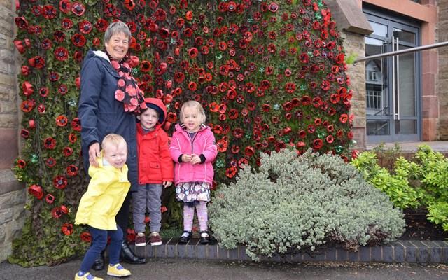 Bramhall Flower festival commemorates WW1