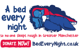 Stockport Homes supports A Bed Every Night campaign