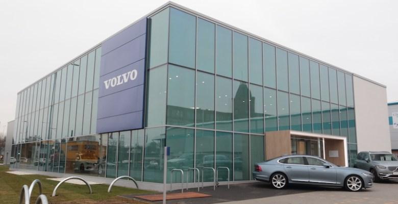 Volvo dealership in Stockport