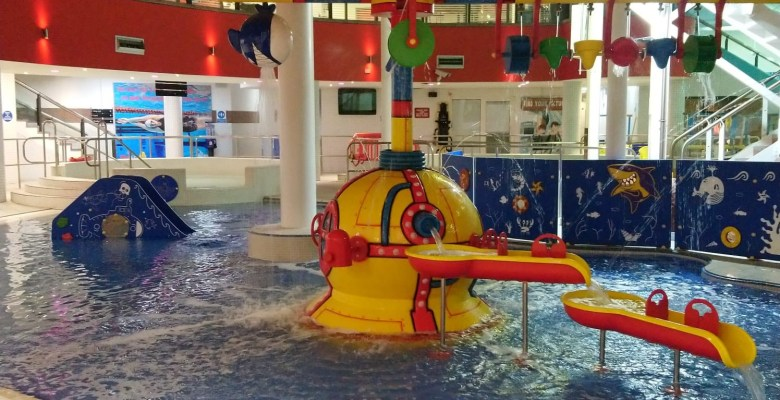 New Splash pool at Grand Central Stockport