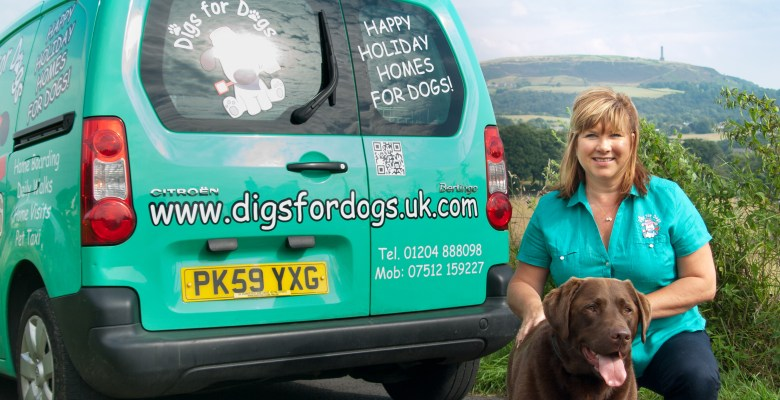 Debbie, founder of Digs for Dogs, is bringing the franchise to Stockport