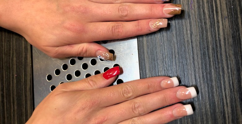 Stockport College Nails Award - Rotherham NW Regional Winner Alison Leech nail design 2