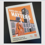 Hatters award winning brochure cover