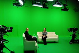Vector TV Stockport Green studios