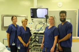 Stockport hospital installs new enhanced endoscopy screens