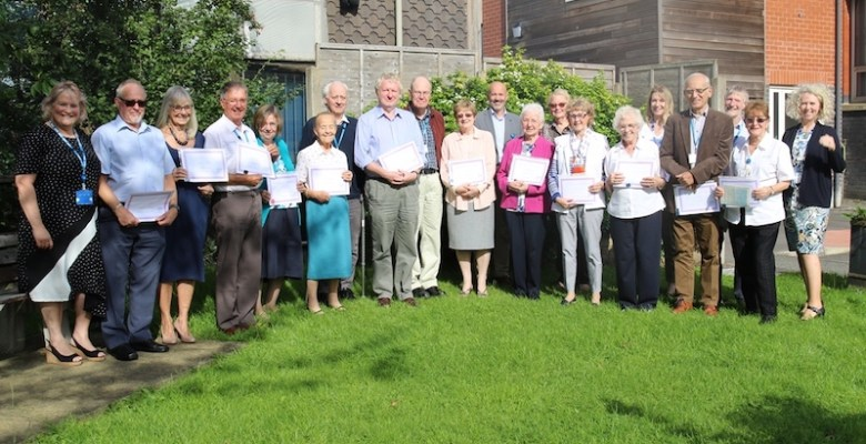 Stepping Hill volunteers