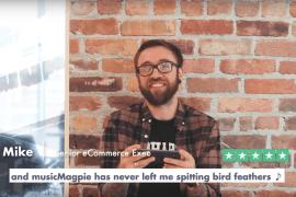 musicMagpie Trustpilot reviews
