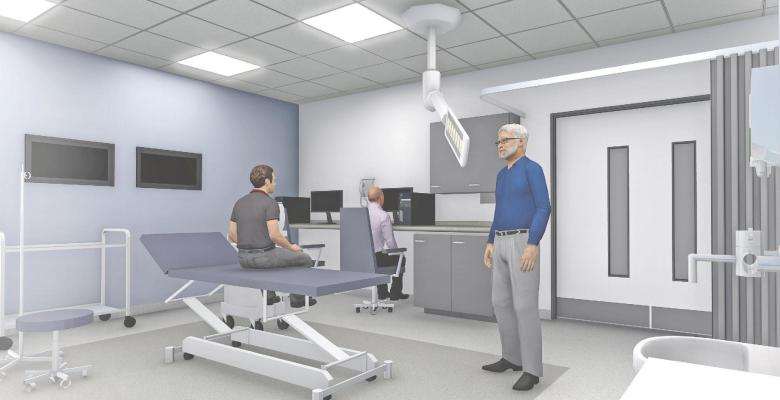 New Endoscopy services at Stepping Hill