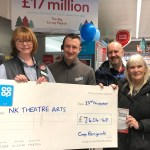 The Big Co-Op Pay Out: Staff and customers raised £7,000 for NK Theatre Arts, Romiley