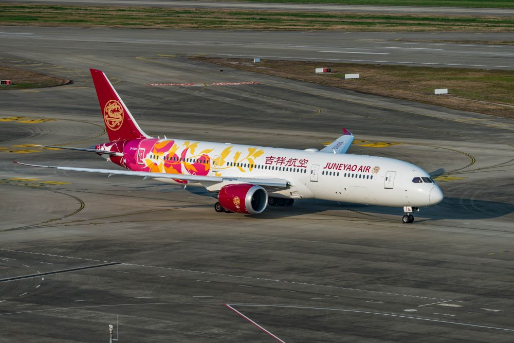 Juneyao Air will operate Manchester Airport to Shanghai flights from March 2020