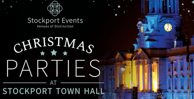 Christmas party nights at Stockport town hall