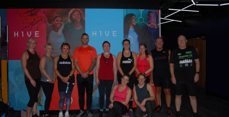 Visitors took part in taster session with Andy Turner at new Stockport fitness studio