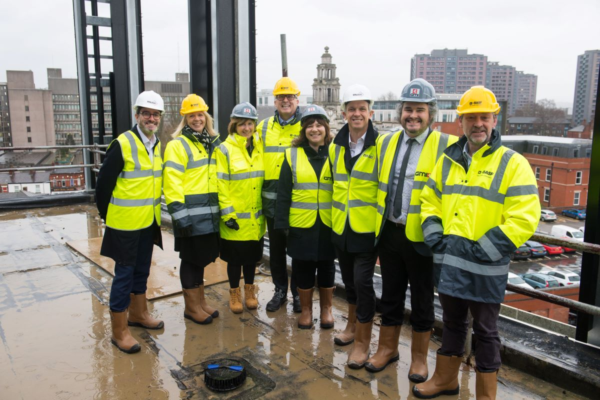 BASF welcomed to 2 Stockport Exchange