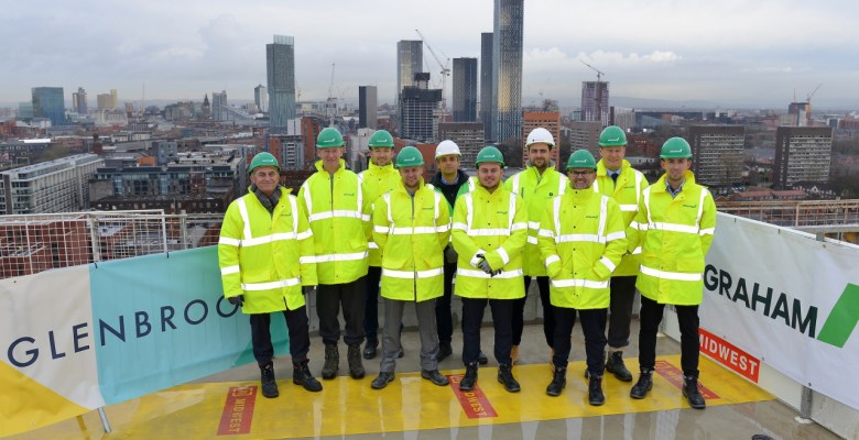 M&S Developers, Glenbrook's project team for Cornbrook apartment buildings
