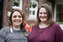 Stockport nursery group Kids Allowed founder Jennie Johnson, and Claire Roberts of Kids Planet