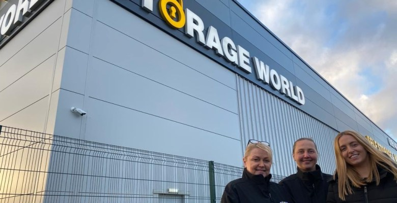 Storage World's new facility at Aiport City