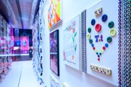 Stockport charity clients exhibit art at Lowry Centre