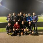 The Old Goats won Life Leisure's inaugural charity football tournament which raised £1500 for Stroke Association and Stepping Hill