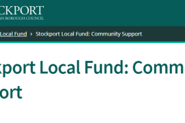 Stockport Council launch Local Fund Community Support during coronavirus