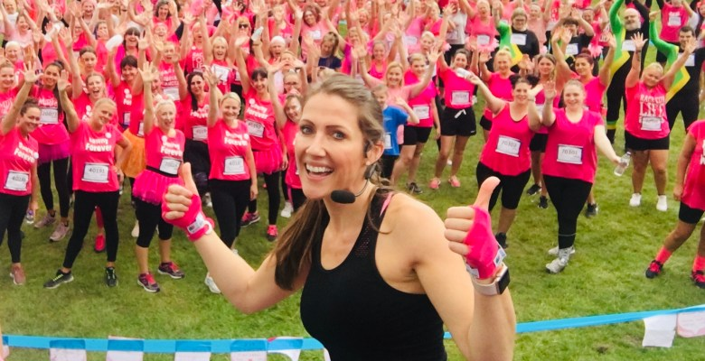 Ruth Lynch (pictured at previous Race for Life event) is heading up Life Leisure's 10 day Challenge for Cancer Research UK