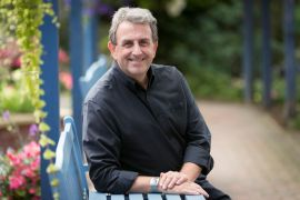 Eamonn O Neal launches appeal in St Anns Hospice Garden