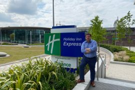 Holiday Inn Express Stockport award winning General Manager Carl Butterworth