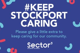 Housing group donates £10,000 to #KeepStockportCaring