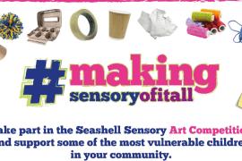 Seashell trust #makingsensoryofitall