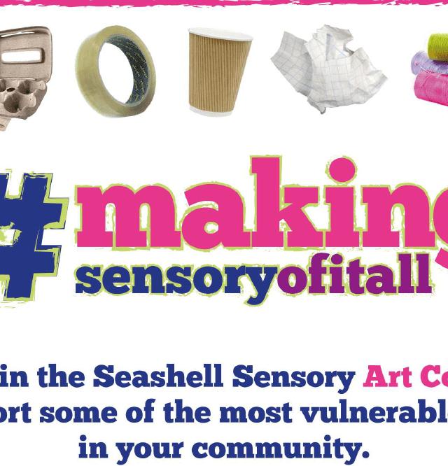 Seashell Trust follows Deafblind Awareness Week with #makingsensoryofitall competition