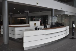 Stockport porsche centre interior