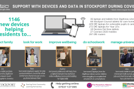 DigiKnow Lending Library Support with devices and data in Stockport