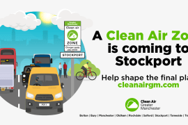Clean Air Zone is coming to Stockport - have your say in shaping it